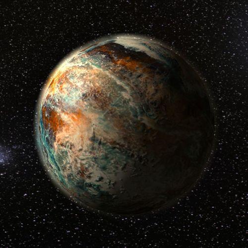 alien fantasy planet 3d model max obj mtl 3ds fbx c4d ma mb 1