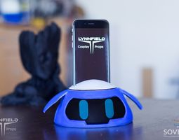 3D print model Mei s Snowball Overwatch phonedock 1