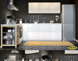 3D model Kitchen IKEA