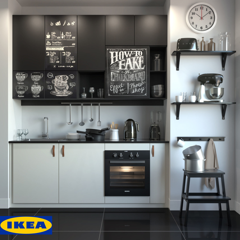 Kitchen Ikea 3d Model Cgtrader