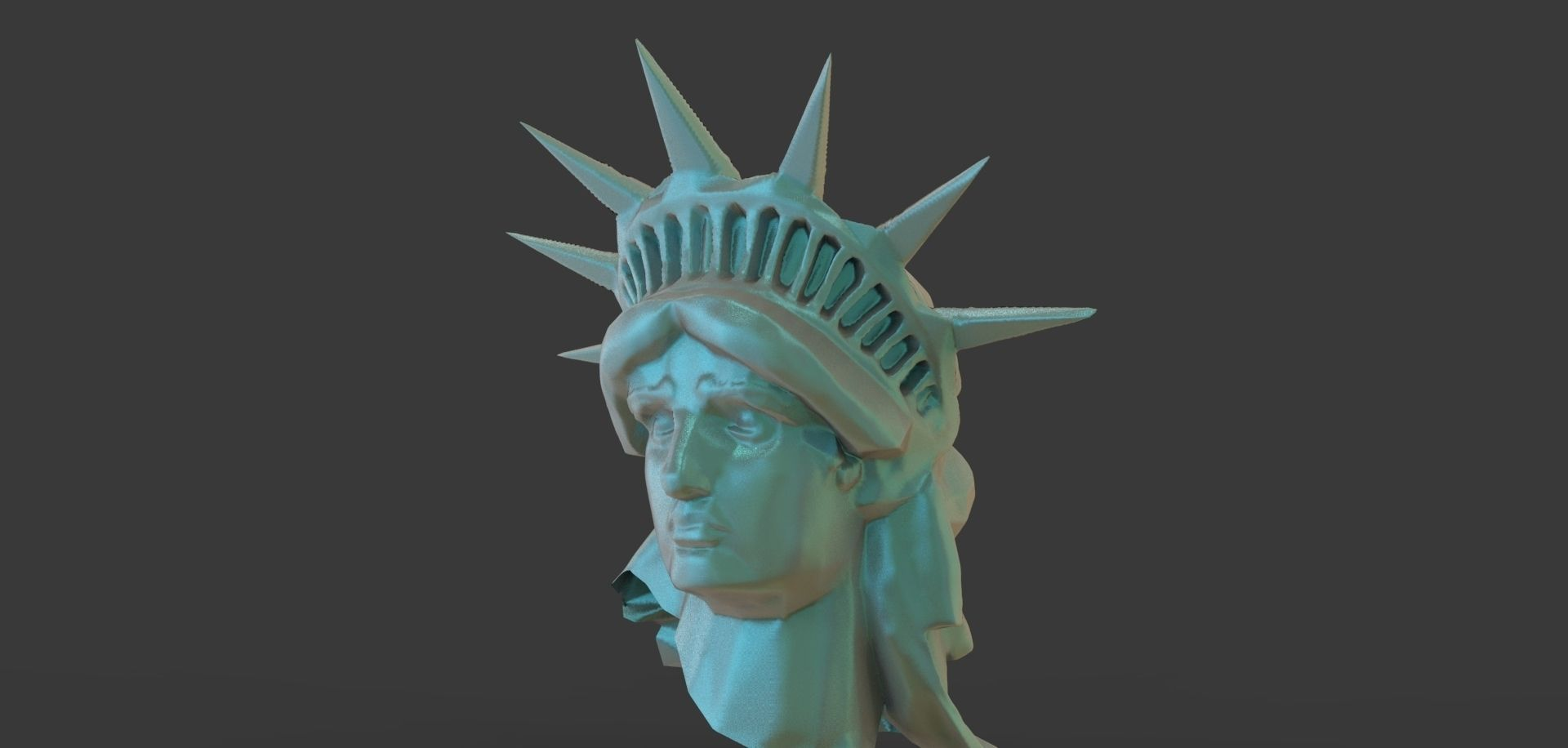 3D model Statue Of Liberty Head   CGTrader