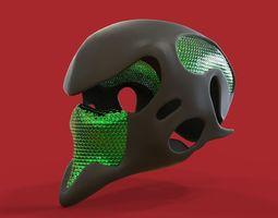 Alien Helmet 3D model
