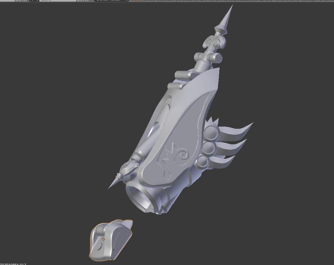 Overwatch Widowmaker Huntress Gauntlet | 3D Print Model