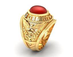 584 USA Ring 3D printable model usa