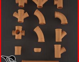3D model Pipes link