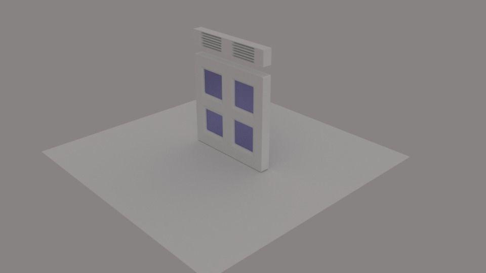 Hexagonal 3d Classic Window Frame Cgtrader