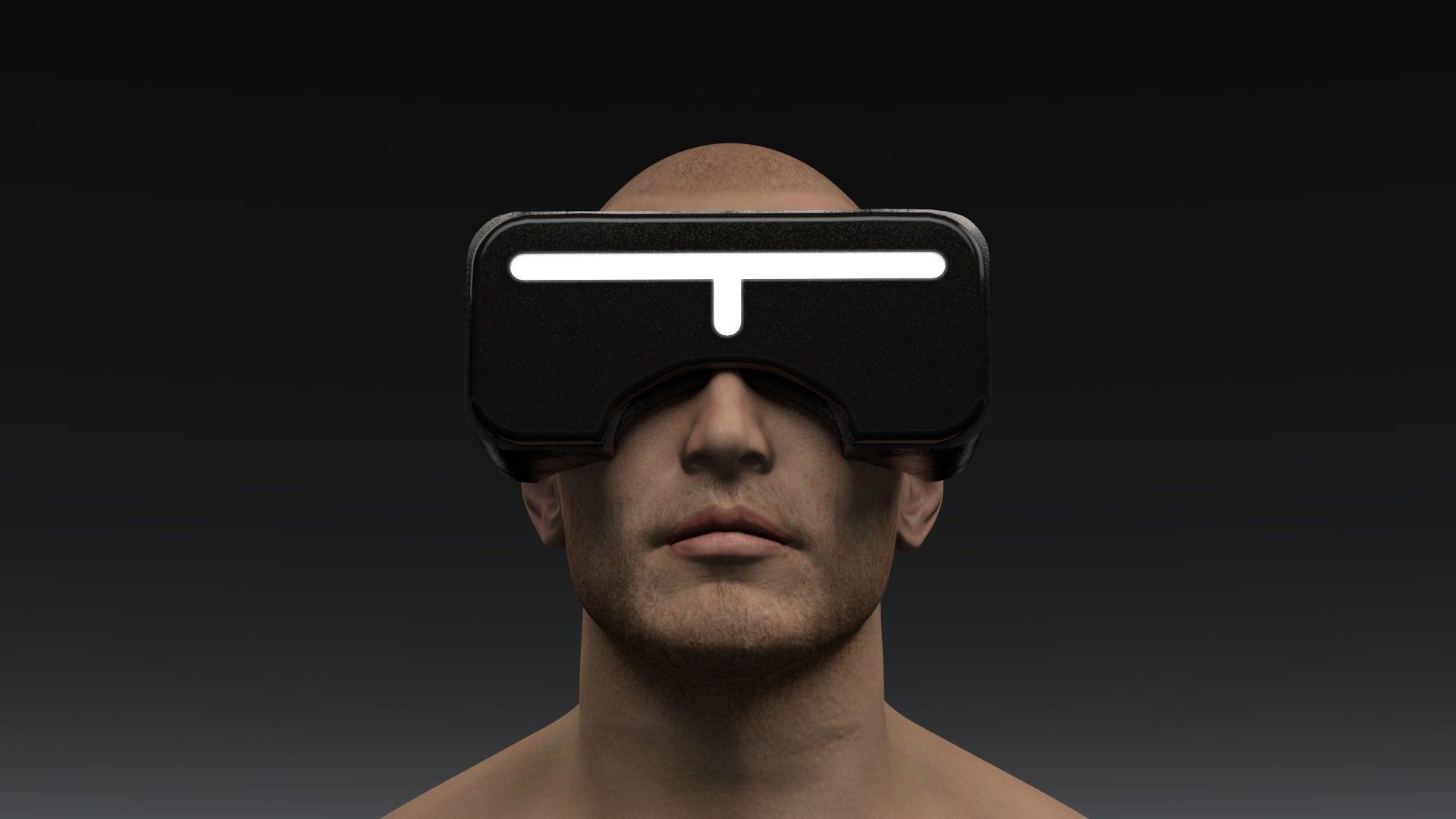 Sci Fi Virtual Reality Headset