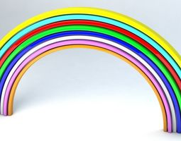 3D asset Rainbow