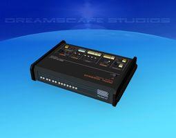 3D Roland CSQ-600 Compurythm