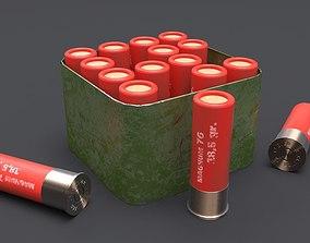gun Hunting cartridges 3D model