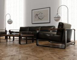 3D model Noda furniture set