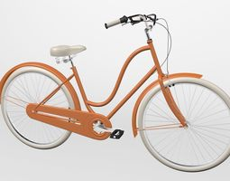 3D model Electra Bike Amsterdam