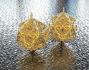 BRO EARRING math 3D printable model