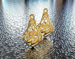 art 3D print model BRO EARRING