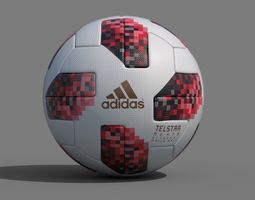 3D model Telstar Mechta Official Match Ball