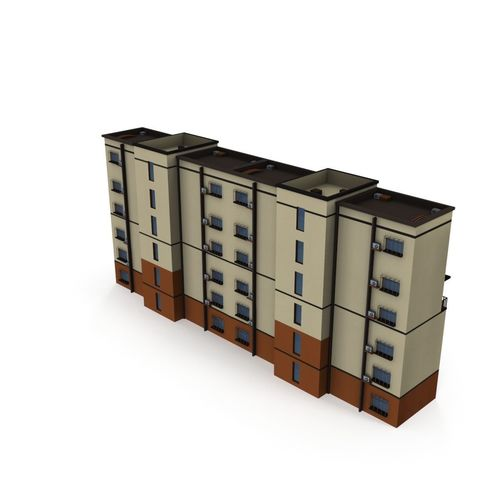 asian architecture residential building 02     lod 3d model low-poly max obj mtl 3ds fbx ma mb tga 1