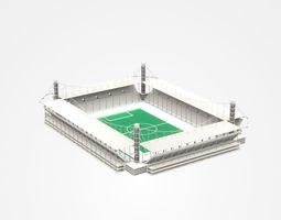 Open-air Football Stadium 3D
