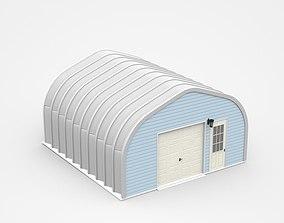 3D model Small Circular Hangar