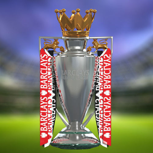 Premier League Trophy 3d Cgtrader