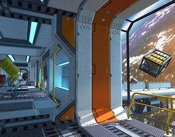 3D model realtime Scifi Kit Vol 3