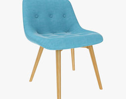 3D side Side Chair