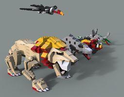 3D model Lego Animals pack