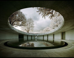Tadao Ando -Naoshima Art Museum - The Third and animated 3