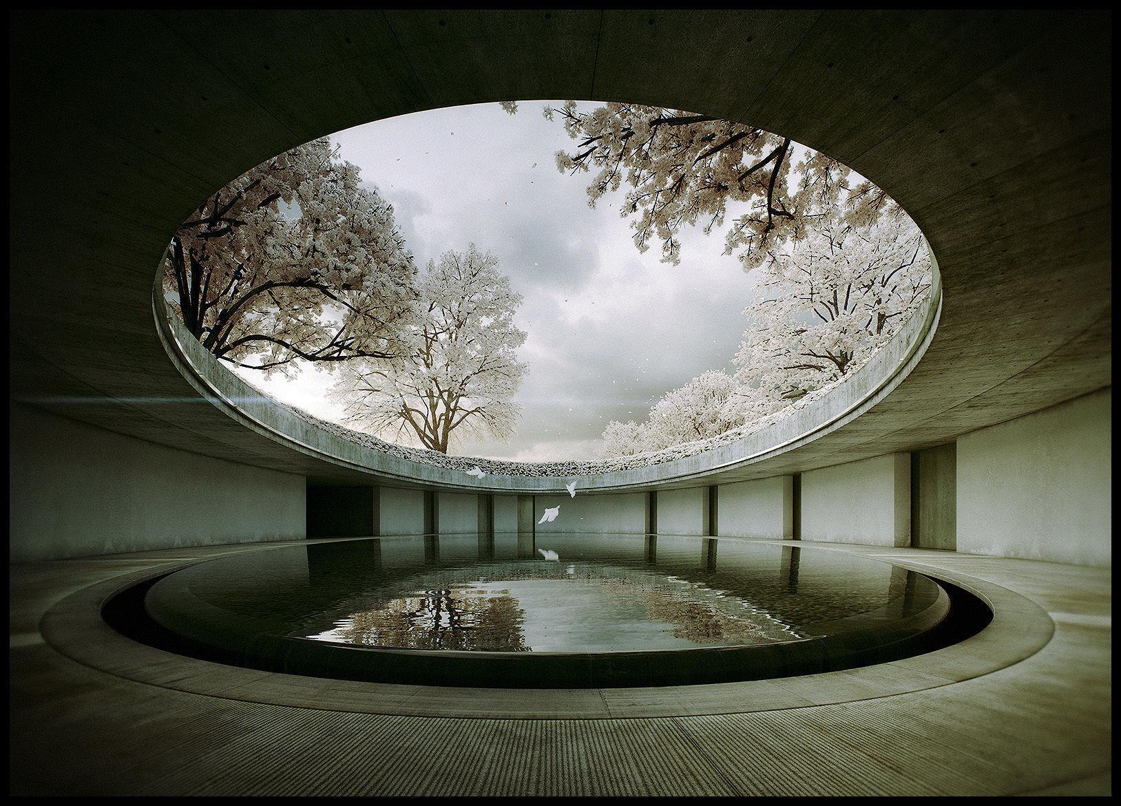 Tadao Ando -Naoshima Art Museum - The Third and The Seventh 3D m