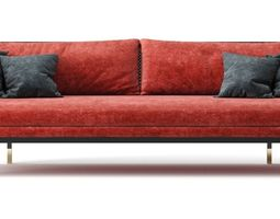 3D model RED Edition Sofa Series Cannage