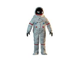 Astronaut 3D model spaceman