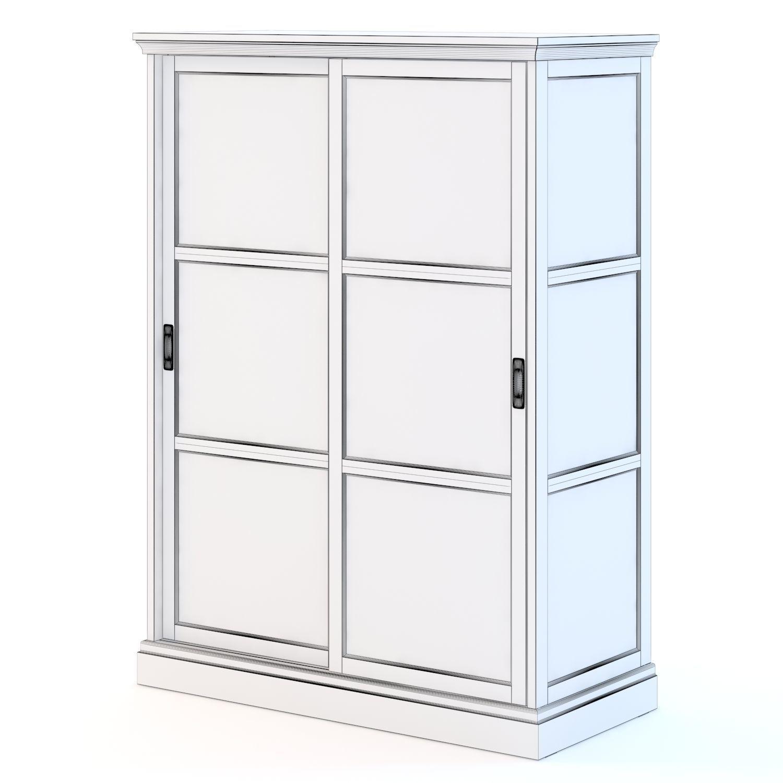 Ikea Malsjo Glassdoor Cabinet 3d Model Max Obj Fbx Mtl 2