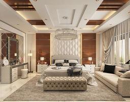 interior Master Bedroom 3D