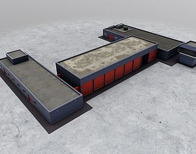 EGKK Fire Station 3D asset
