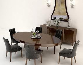 Baker Furniture Set 3D