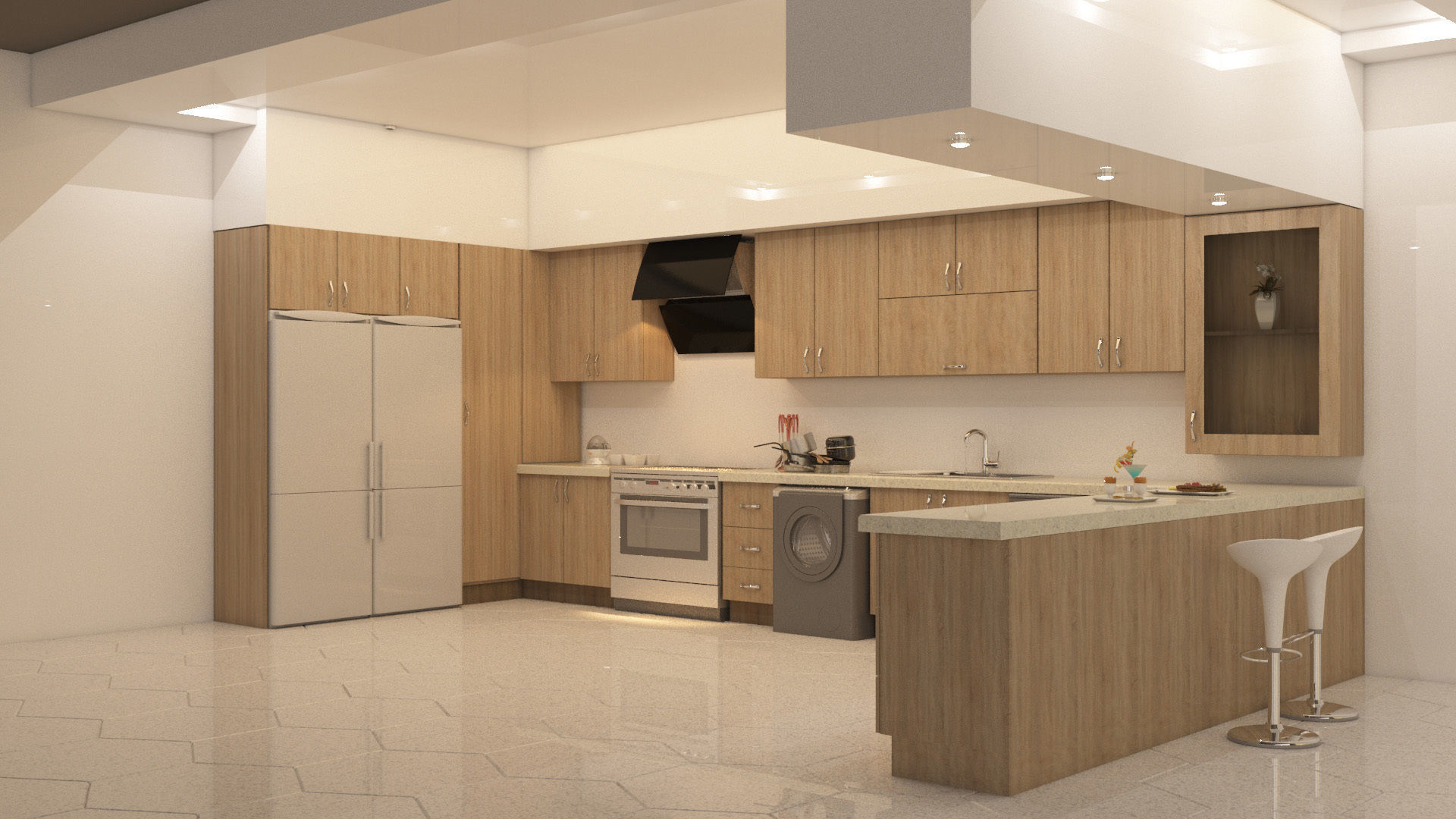 kitchen design | 3D model