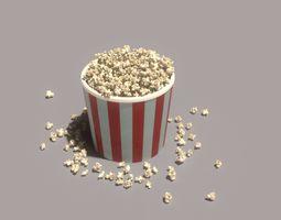 3D asset Popcorn time