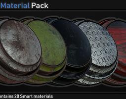 3D model Smart Material Pack Vol 1