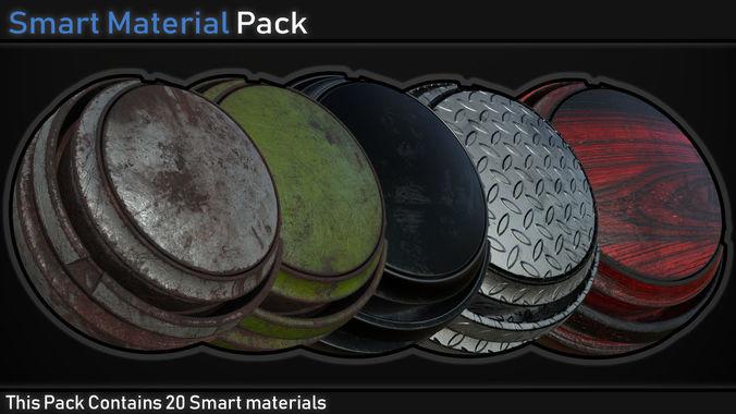 Smart Material Pack Vol 1 | Texture