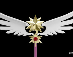 Card Captor Sakura Scepter 3D model