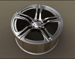 Rim of an Audi r8 3D
