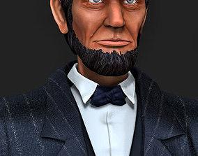 3D model Abraham Lincoln