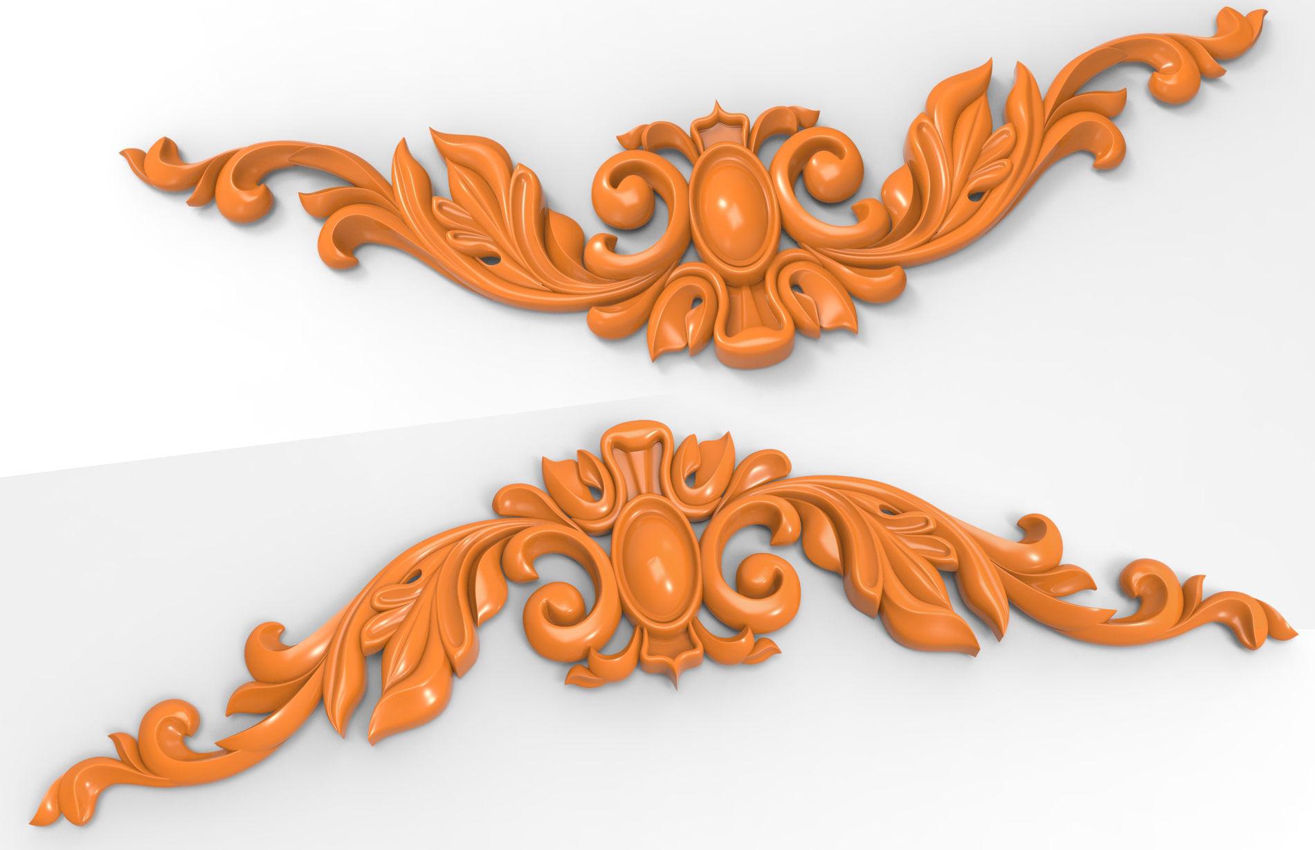 Carved CNC 3D print model
