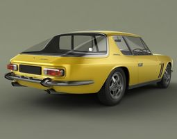 3D model Jensen Interceptor FF