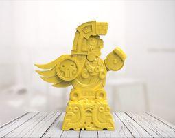 3D print model Maya statue 02