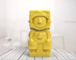 3D print model Maya statue 01