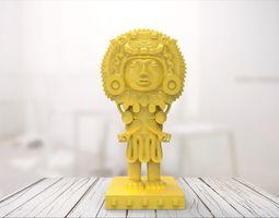 Maya statue 03 3D printable model