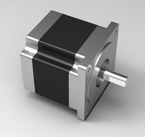 470 Oz In Nema 34 Stepper Motor From Kinetic Step Free 3d