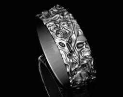 Ring of the Demons 3D print model magic