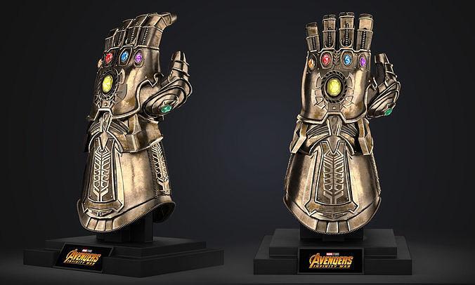 Thanos Infinity Gauntlet - Avengers Marvel