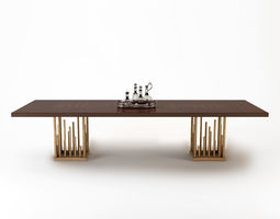 Dining Table Dolce Christopher Guy 3D model